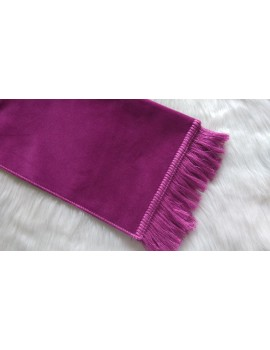 Tapis velour enfants Rose tamatia