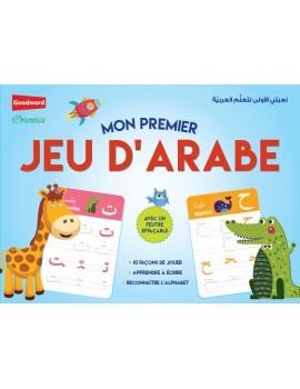 Mon premier jeu d'arabe (avec feutre effaçable)