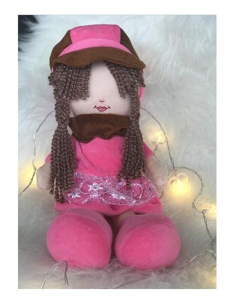 Peluche Aïcha - Grande poupée pour fillettes