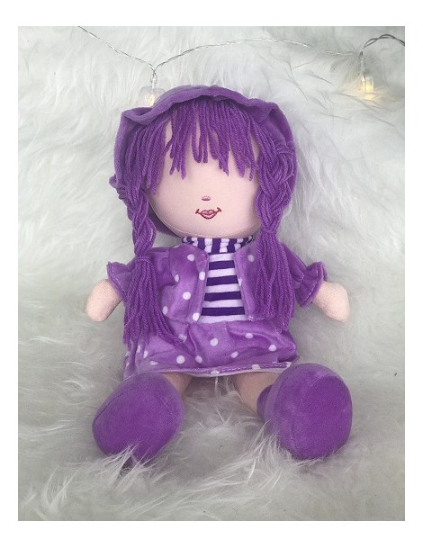 Peluche Fatima - Grande poupée sans les yeux