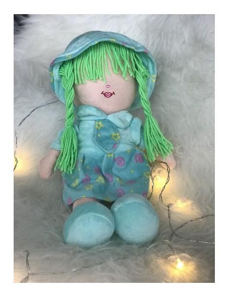 Peluche Meriem - Grande poupée 40 cm sans les yeux