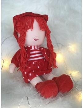 Peluche Samira - Grande poupée 40 cm sans les yeux