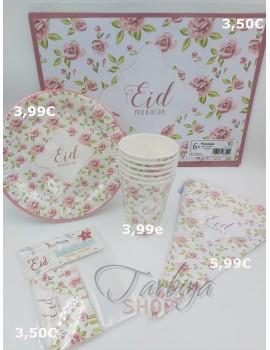 """Décoration """"Eid Mubarak"""" Rose vintage"""