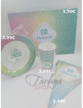 """Décoration """"Eid Mubarak"""" Pastel"""