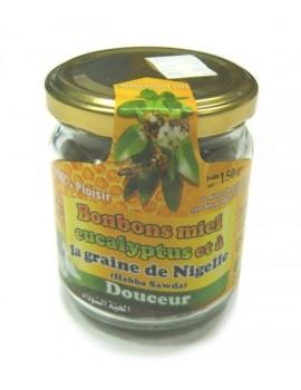 Bonbons Miel eucalyptus et graine de Nigelle