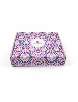 "Grande boîte à gâteaux ""eid mubarak"""