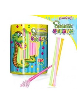 Sweet Mania Pailles Snakes Straws - Lot de 10