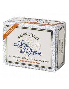 Savon d'Alep premium au lait de chèvre - 125 g