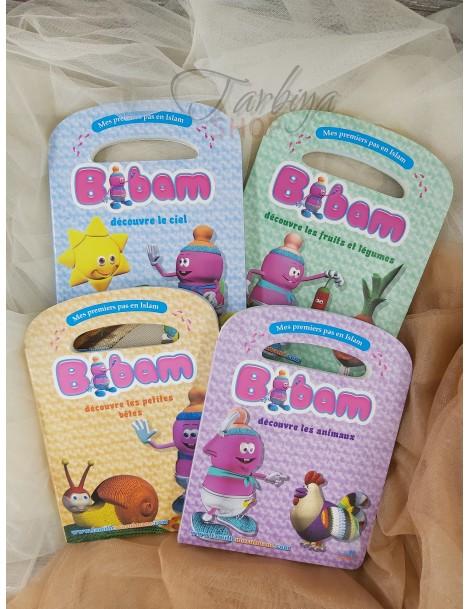 Collection Bibam - 4 livres catonnés