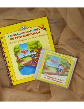 Les bonnes manières du petit musulman livre + CD audio