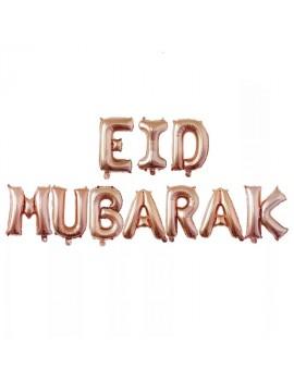 "Banderole ""Eid Mubarak"" rose"