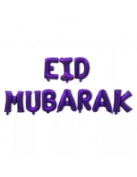 "Banderole ""Eid Mubarak"" dorée"