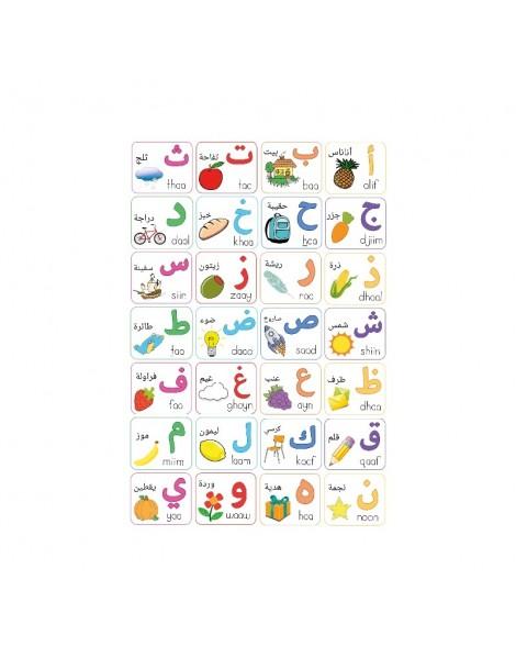 Poster de l'alphabet Arabe