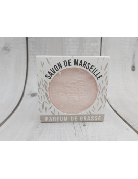 Savon de Marseille traditionnel - Rose