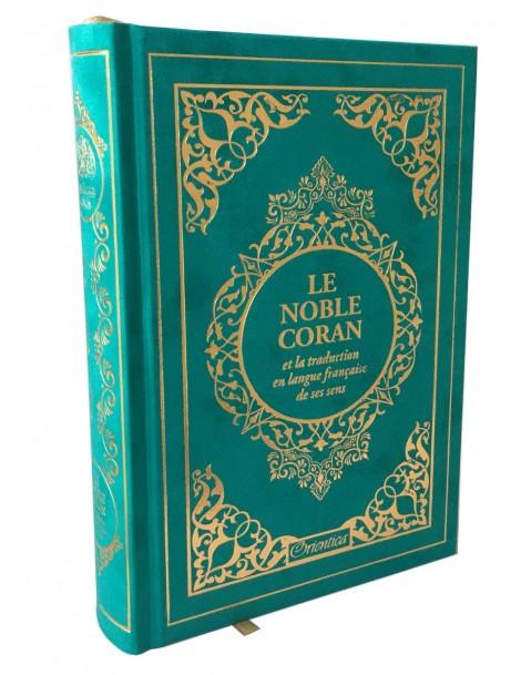 Le Noble Coran (bilingue français/arabe) - Maldives doré