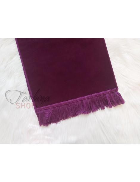 Tapis de pière adulte violet bizantin