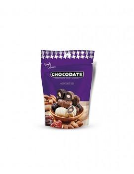 Assortiment de dattes enrobées de chocolat Belge