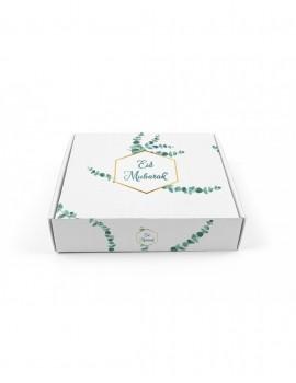 """Boîte à gâteaux """"Eid Mubarak"""" Eucalyptus"""