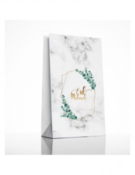 """Lot de 6 sachets cadeaux """"Eucalyptus"""""""