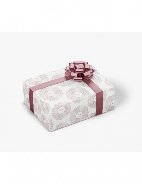"Papier cadeau ""Eid mubarak"" rosaces"