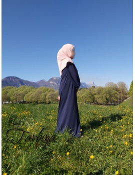 Abaya fille manches bouffantes