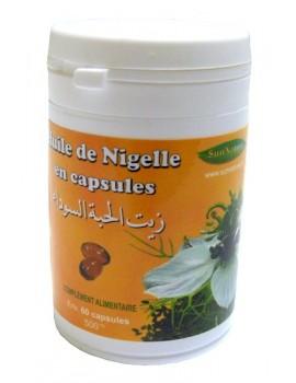Huile de Nigelle en capsules