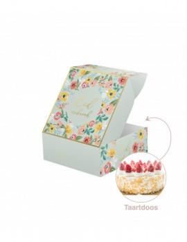 """Boîte à gâteau """"Eid mubarak"""" Flowly"""