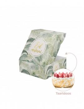 """Boîte à gâteau """"Eid mubarak"""" Natural"""