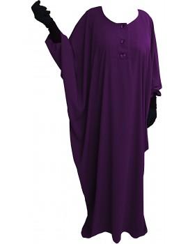 Abaya saoudienne tissu caviary