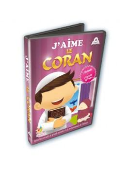 J'aime le Coran Cd audio + Livre