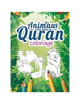 Livre de Coloriage : Les animaux cites dans le Quran