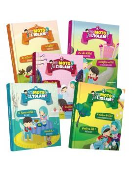 """Collection de 5 livres : """"Petits mots de l'islam"""""""