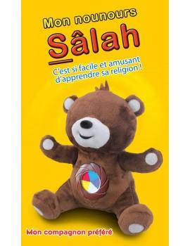 Mon nounours Salah : C'est si facile et amusant d'apprendre sa religion ! (version sans les yeux)
