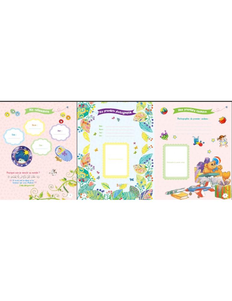 5a8e63bfe6400 ... Le livre de mon bébé musulman (version fille) ...