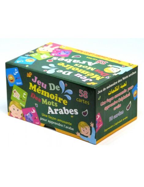 Jeu de mémoire des mots Arabes 58 cartes