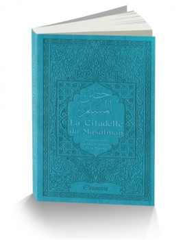 La Citadelle du Musulman - couverture gaufrée sur les 2 faces - couleur bleue turquoise