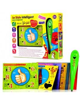 Le Stylo intelligent - + de 100 cartes illustrées bilingues (français/arabe)