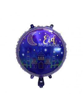 "Lot de 5 Ballons ""Eid Mubarak"""