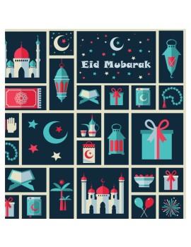 """Papier cadeau """"Eid Mubarak"""""""