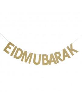 """Guirlande Pailletée """"Eid Mubarak"""""""
