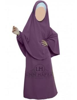Abaya et hijab fille Umm Hafsa