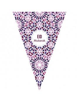 "Grande banderolle ""Eid Mubarak"""