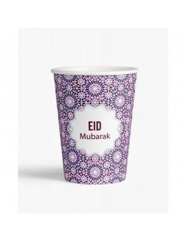 """Lot de 6 verres """"Eid Mubarak"""""""