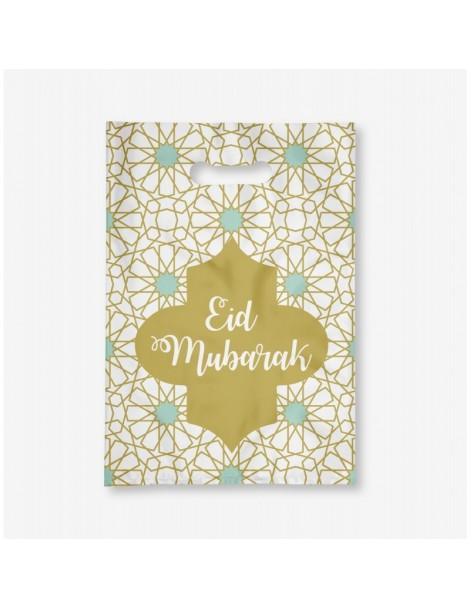"Lot de 6 sachets ""Eid Mubarak"""