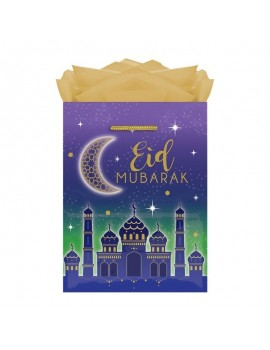 "Sac cadeau ""Eid Mubarak"""