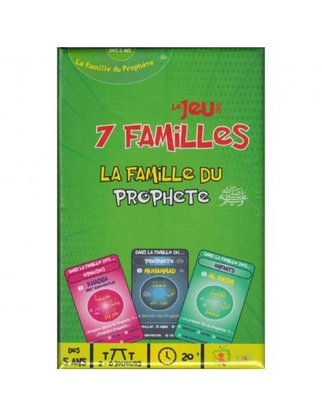 """Jeu des 7 familles """"La famille du Prophète"""""""
