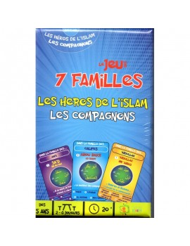 "Jeu des 7 familles ""Les Héros de l'Islam, Les Compagnons"""