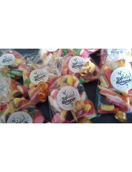 "Sachets de bonbons Halal sans cochenille ""Eid Mubarak"""